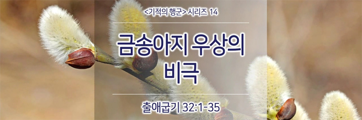 2017-03-19 주일설교 – 금송아지 우상의 비극